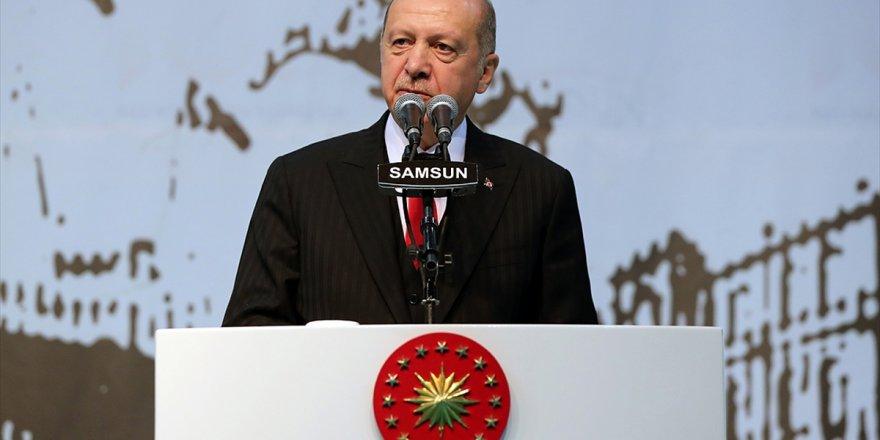 Cumhurbaşkanı Erdoğan: Bizim Kızıl Elmamız Da Büyük Ve Güçlü Türkiye'nin İnşasıdır