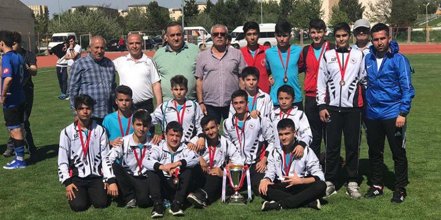 Meram Kara Kartallar U15  Türkiye dördüncüsü oldu