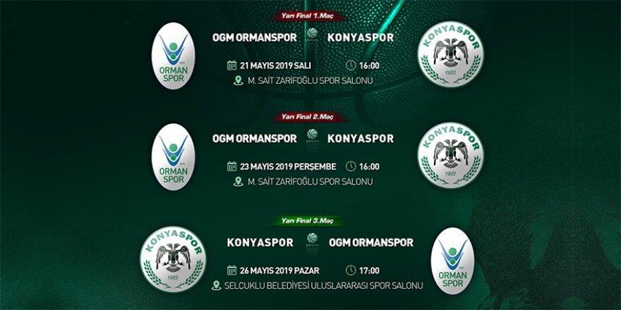 Konyaspor basketbol süper lige doğru