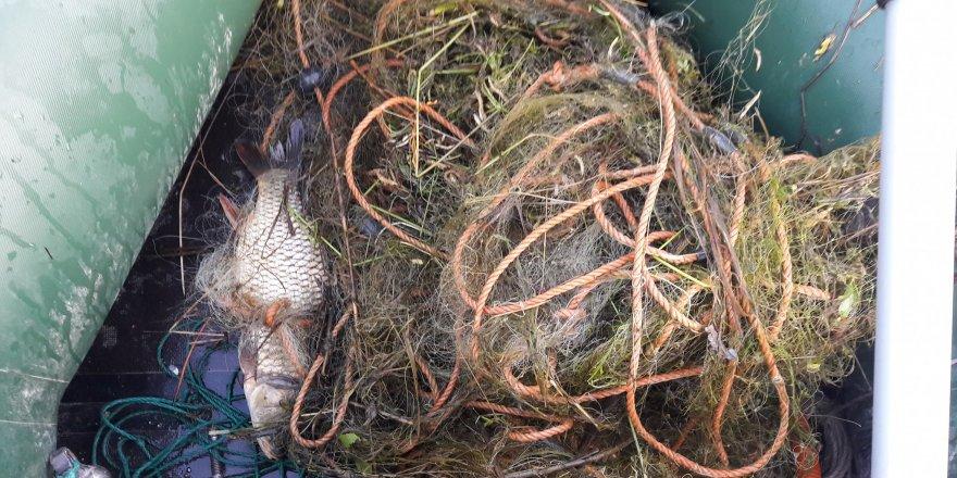 Konya'da Kaçak Balık Avcılarına Yönelik Denetimler