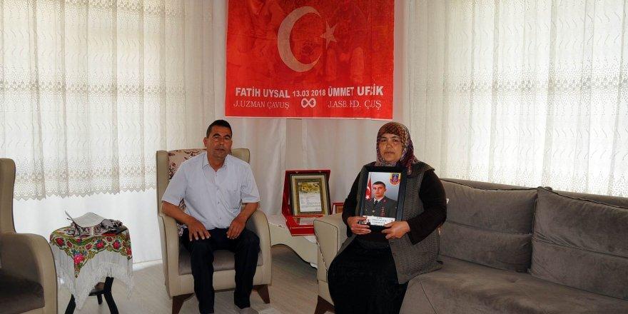 Şehit Ümmet Ufacık'ı şehit eden teröristin ölü ele geçirilmesi ailesini sevindirdi