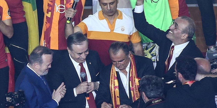 Galatasaray, Fatih Terim İle 5 Yıllık Yeni Sözleşme İmzaladı