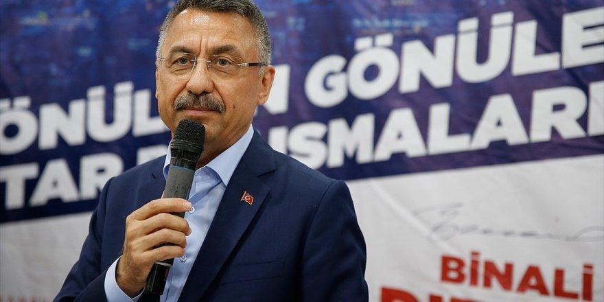 Cumhurbaşkanı Yardımcısı Oktay: Milletimizin Ve İstanbul'un İhtiyacı Ayrışmak Değil
