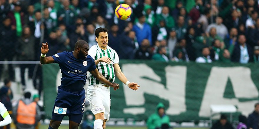 Beraberliklerin takımı Konyaspor