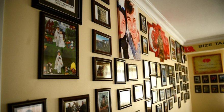 Afrin Şehidi Oğlunun Hatıralarını Evinin Odasında Yaşatıyor