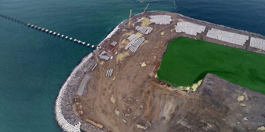 Denize İkinci Havalimanında Çalışmalar Tam Gaz Sürüyor