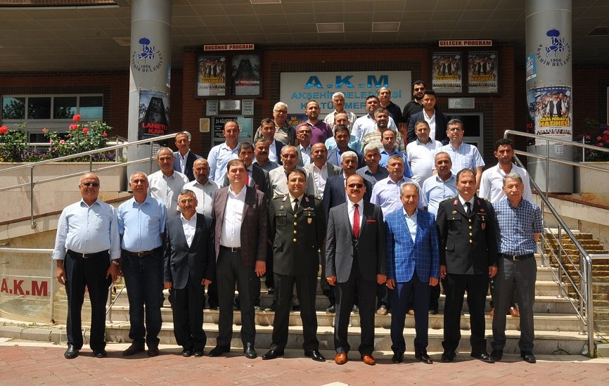 Akşehir'de bayramlaşma programı