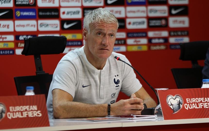 """Didier Deschamps: """"Epey ateşli bir atmosfer yaşanacak"""""""