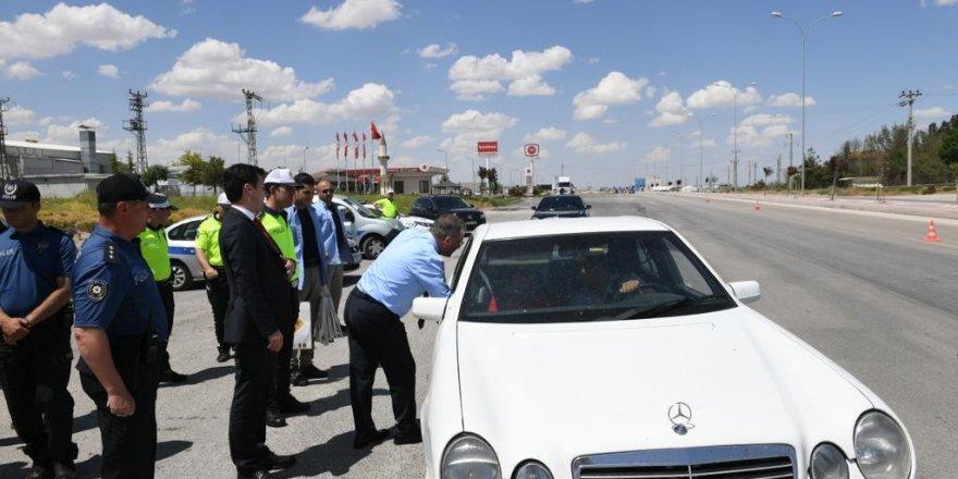 Emniyet Genel Müdürü Celal Uzunkaya, Konya'da denetimlere katıldı