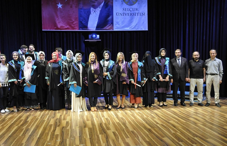 Güzel Sanatlar Fakültesi mezuniyet töreni