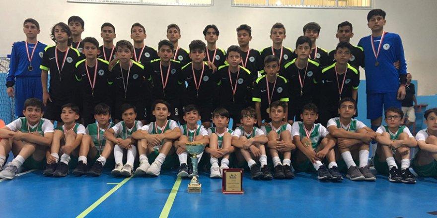 Konyaspor'lu minikler şampiyon