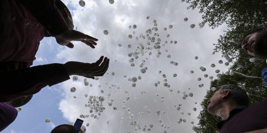 Balonlar Gökyüzüne İdlib İçin Bırakıldı