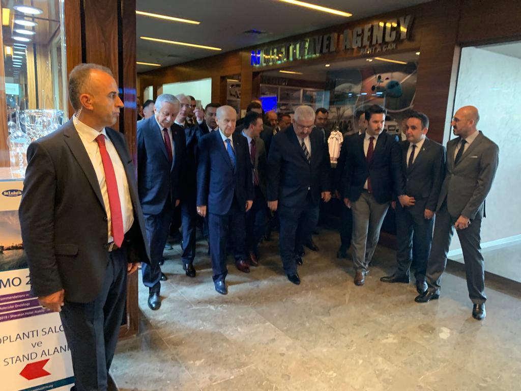 MHP İl Başkanlığı İstanbul'da