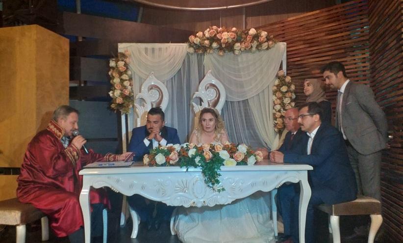 Süleyman ve Zeynep'in mutlu günü