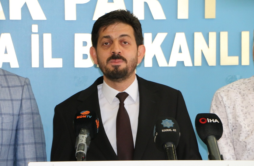 """Ali Deresoy: """"Barbar Sisi'ye karşı dur diyen tek dünya lideri Cumhurbaşkanımız Recep Tayyip Erdoğan'dır"""""""
