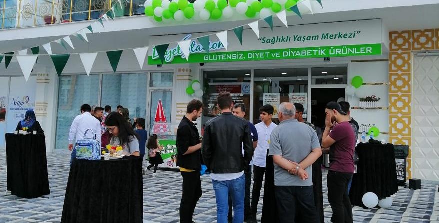 """Diyet Station """"Sağlıklı Yaşam Merkezi"""" açıldı"""