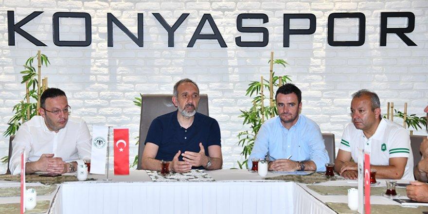 Konyaspor'da altyapı hocaları belli oldu
