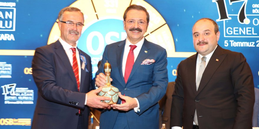 Memiş Kütükcü, OSBÜK başkanlığına yeniden seçildi