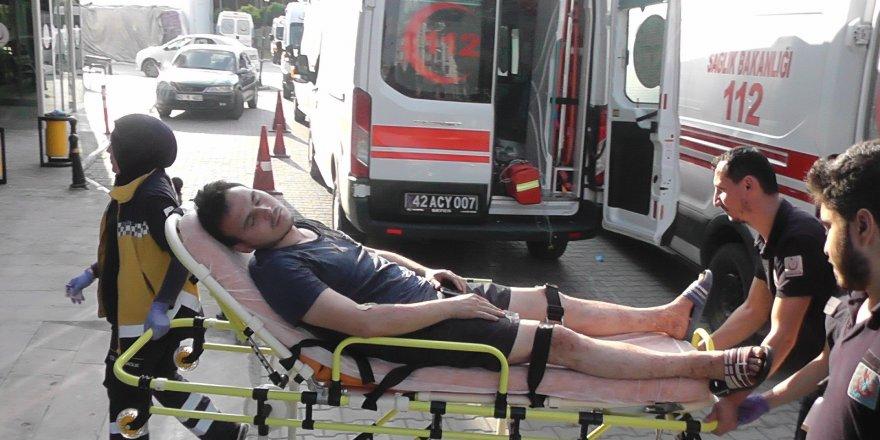 Otomobil takla attı: 4 ölü, 1 yaralı