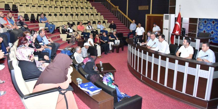 Karatay Söz Meclisleri ilçeye değer katıyor