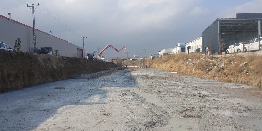 Keçili Kanalında bin 377 metre ıslah gerçekleştirildi