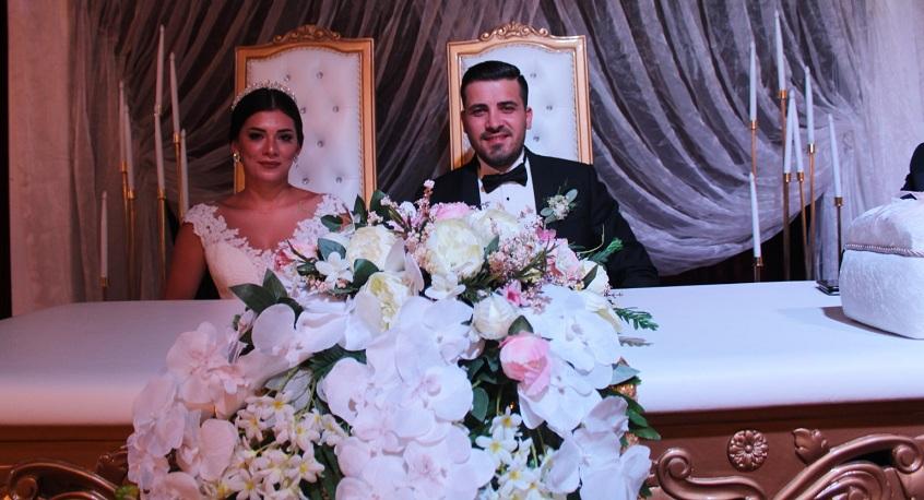 Melis ve Mustafa'nın mutlu günü