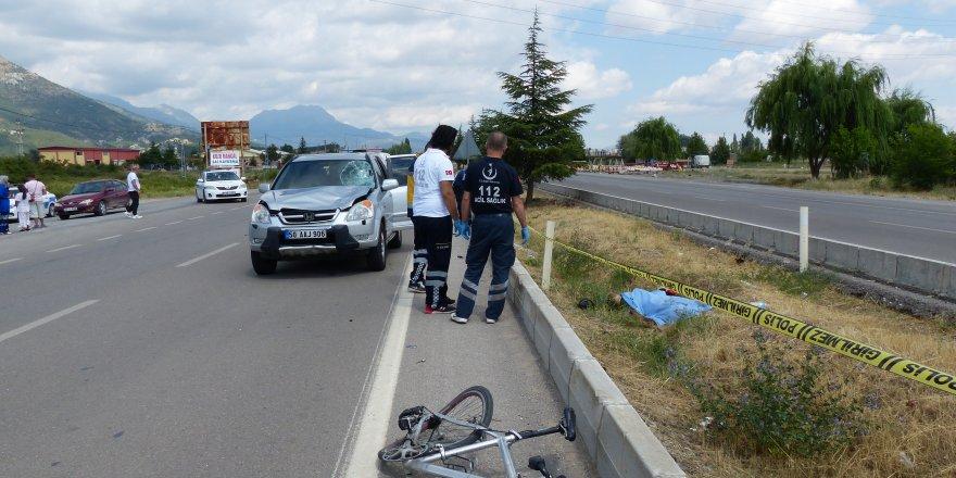 Konya'da Otomobilin Çarptığı Bisikletin Sürücüsü Öldü