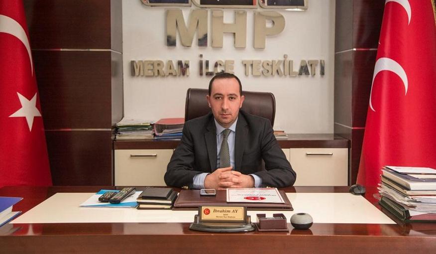 Başkan Ay'dan Konya'ya teşekkür