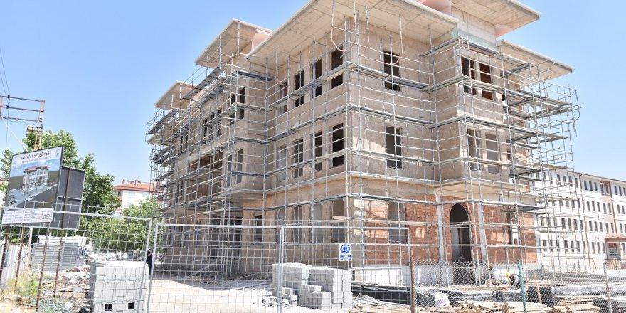 Köprübaşı Polis Karakoluna yeni hizmet binası