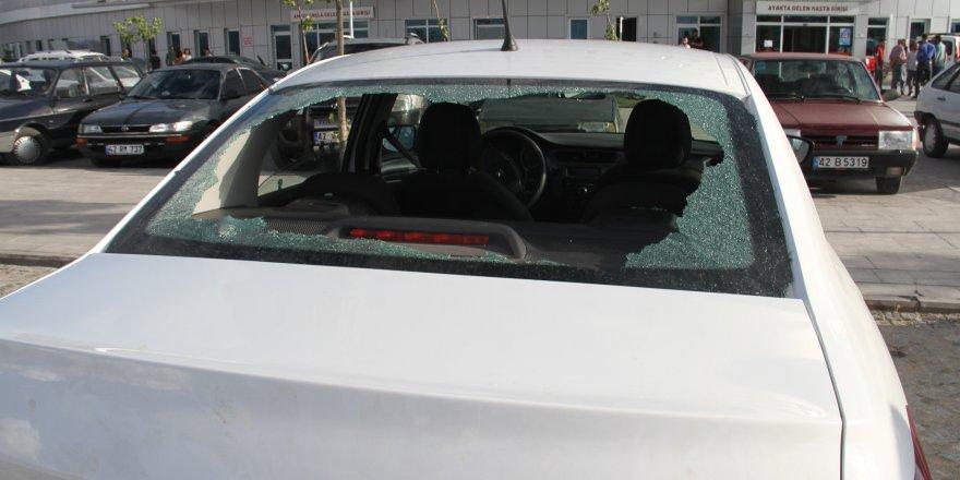 Beyşehir'de Silahla Yaralama