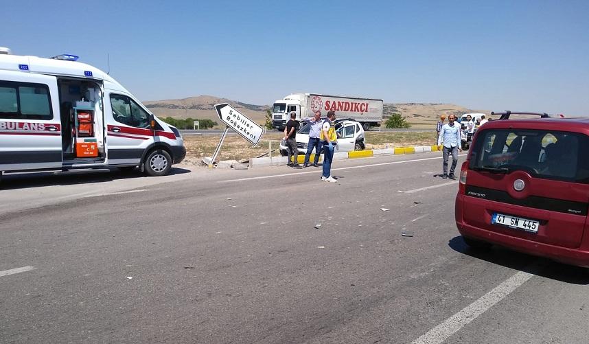 Ilgın'da Trafik Kazası: 1 Yaralı