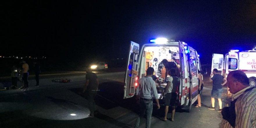 Karapınar'da Motosiklet Kazası: 2 Yaralı