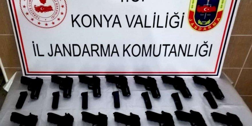 Konya'da Silah Kaçakçılığı Operasyonu