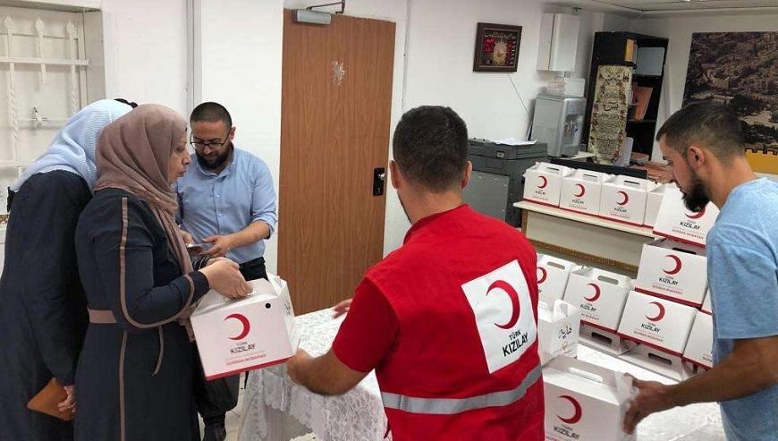 Türk Kızılaydan Filistin'de Kurban Organizasyonu