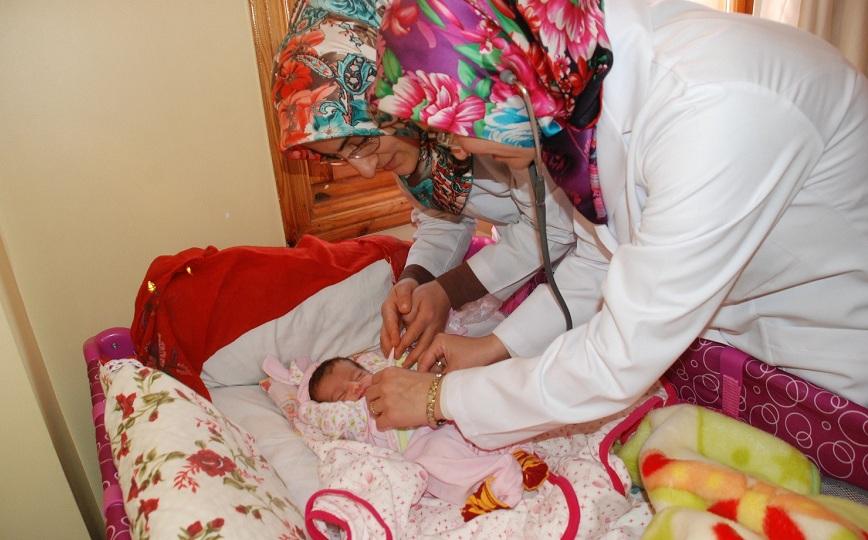 Yeni doğan bebeklerin ilk hediyesi Karatay Belediyesinden