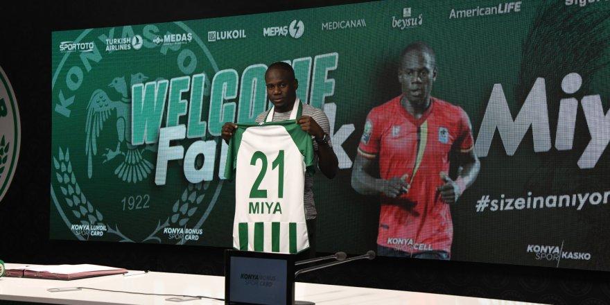Farouk Miya Konyaspor'da