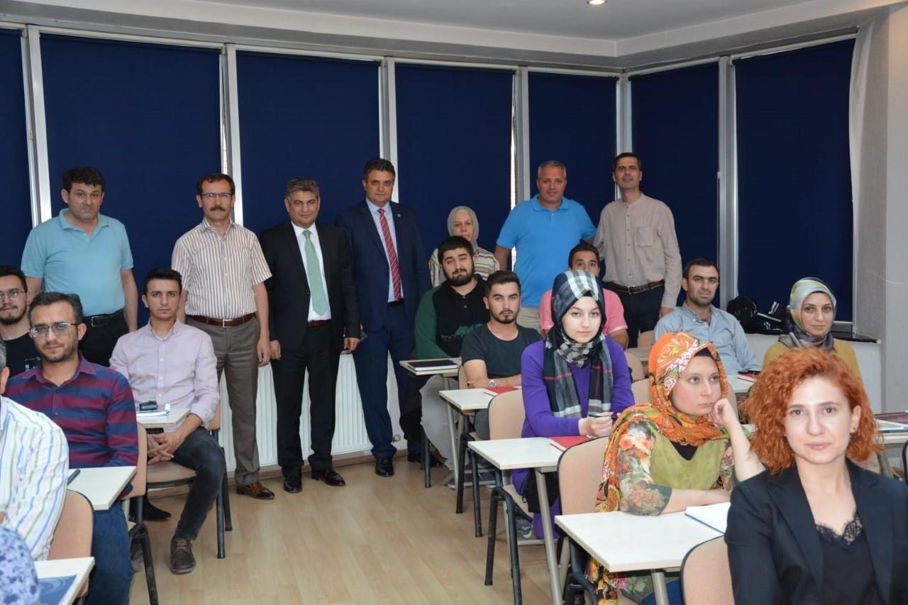 Konya SMMMO'da Staja Giriş Sınavına hazırlık kursu başladı