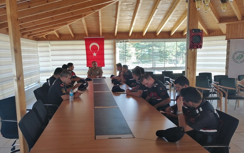 Beyşehir'de Jandarma Personeli İçin Eğitim Semineri