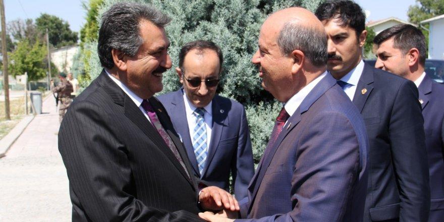 KKTC Başbakanı Tatar, Konya'da