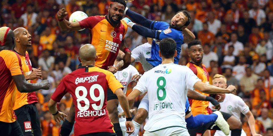 Galatasaray-Konyaspor: 1-1