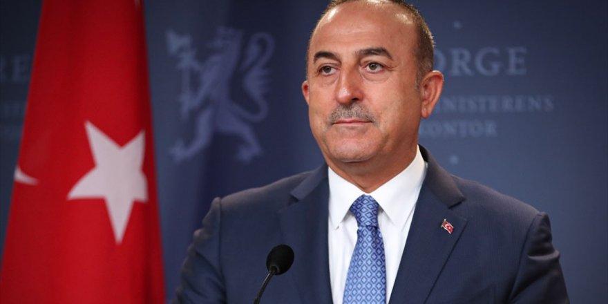 Dışişleri Bakanı Çavuşoğlu: Netanyahu'nun Seçim Vaadi Irkçı Bir Apartheid Devleti