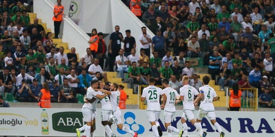 Konyaspor, Denizli deplasmanında güldü