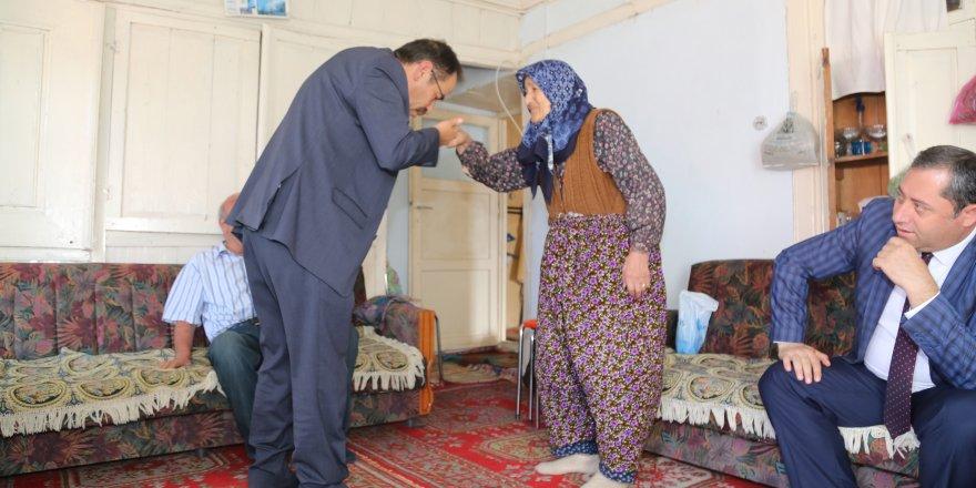 Başkan Hadimioğlu'nun Ev Ziyaretleri