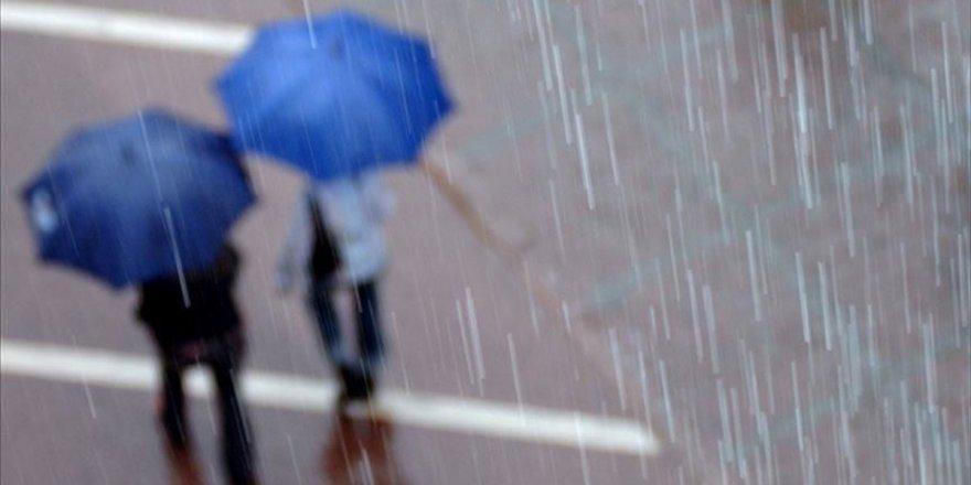 Meteorolojiden 5 İl İçin Sağanak Uyarısı