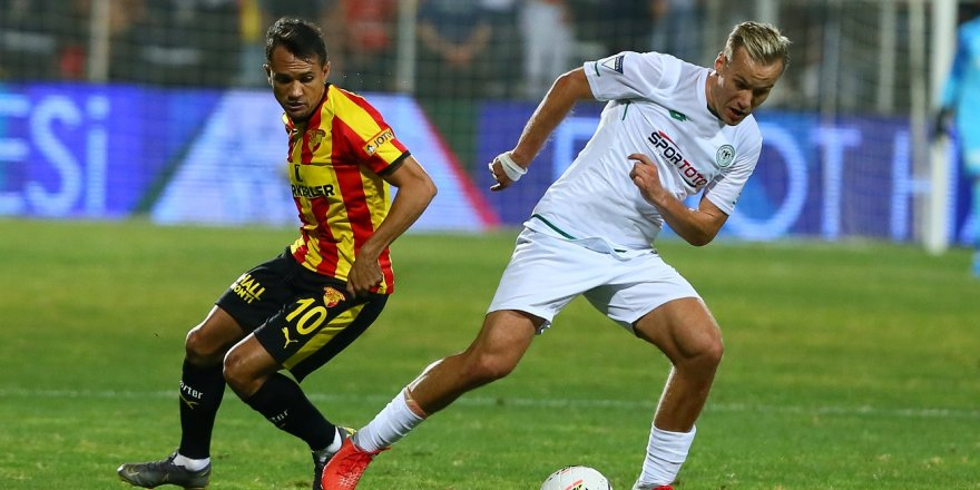 Göztepe-Konyaspor: 1-0