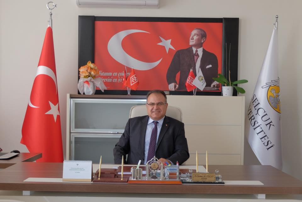 Selçuk Üniversitesinin acı kaybı