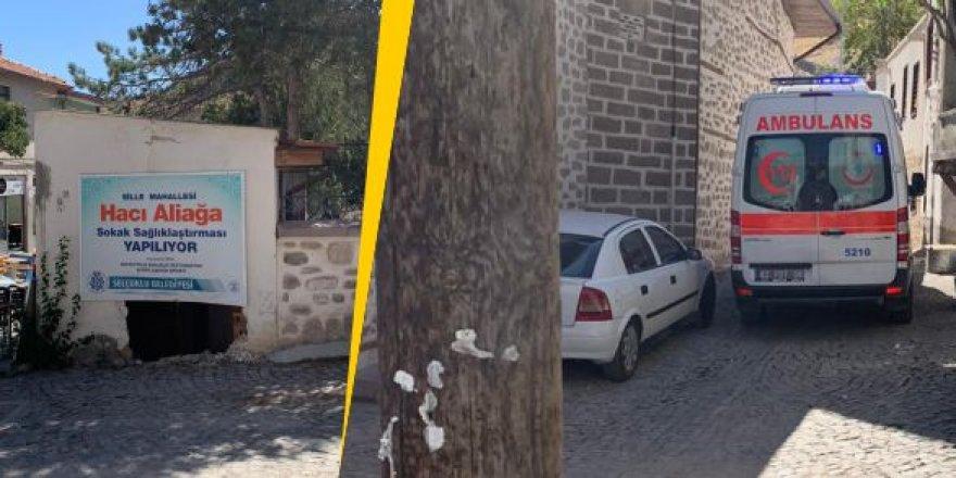 Sille'de bariyer çalışmayınca ambulans yaralıya ulaşamadı