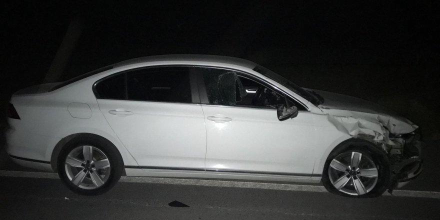Otomobil İle Motosiklet Çarpıştı: 1 Ölü, 1 Yaralı