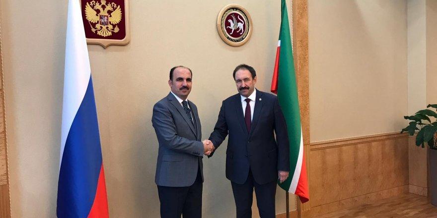 TDBB Başkanı Altay Tataristan Başbakanını ziyaret etti