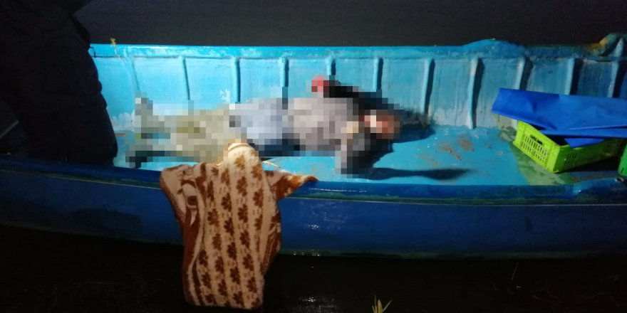 Avlanmak İçin Girdiği Su Kanalında Kanosu Batan Gurbetçi Öldü